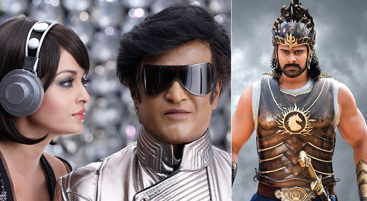 Most expensive Indian movies robot endhiran baahubali @TheRoyaleIndia