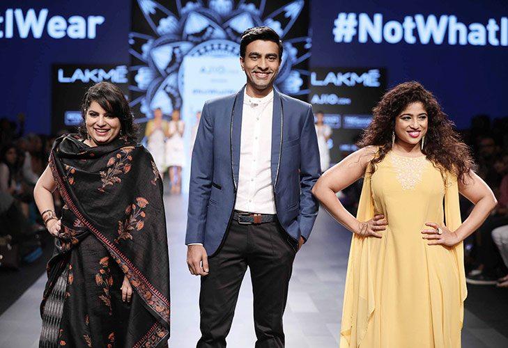 #notwhatiwear at LFW SR 17 @TheRoyaleIndia