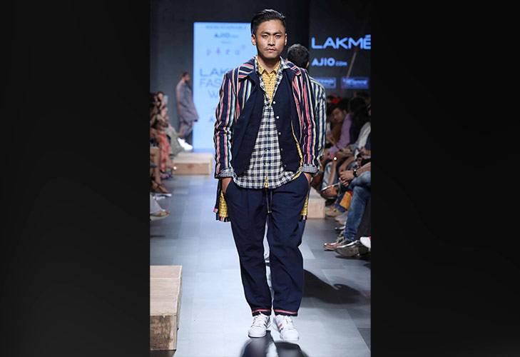 PERO at Ajio com s The Sustainble Man show at LFW SR 17 @TheRoyaleIndia