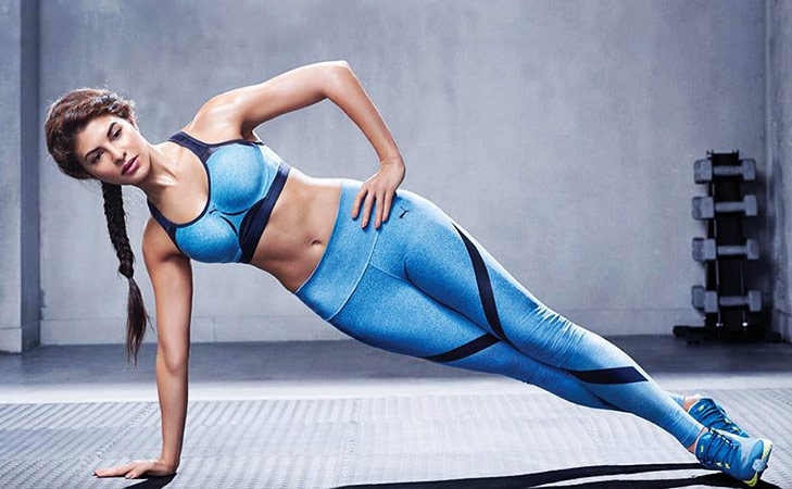Bollywood fitness freaks on Instagram Jacqueline Fernandez @TheRoyaleIndia