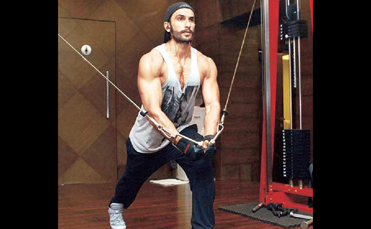 Bollywood fitness freaks on Instagram Ranveer Singh @TheRoyaleIndia