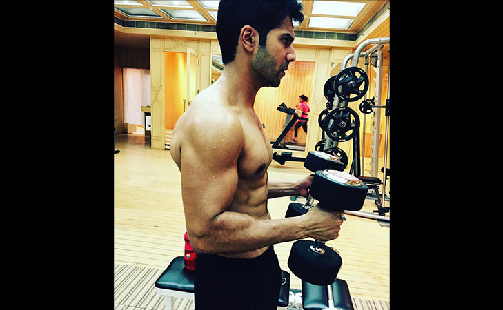 Bollywood fitness freaks on Instagram Varun Dhawan @TheRoyaleIndia