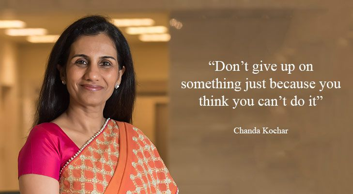 Chanda kochar Inspirational women @TheRoyaleIndia
