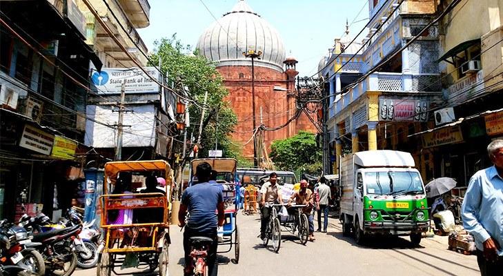Delhi Landmarks Chawri Bazaar @TheRoyaleIndia