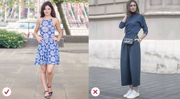 Fashion mistakes avoid excessive prints