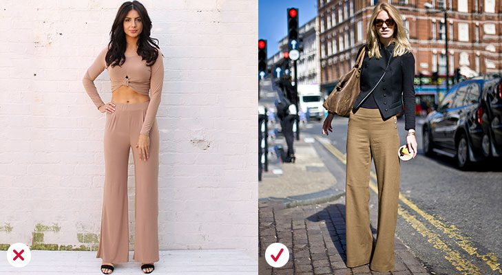 Fashion mistakes trouser rules