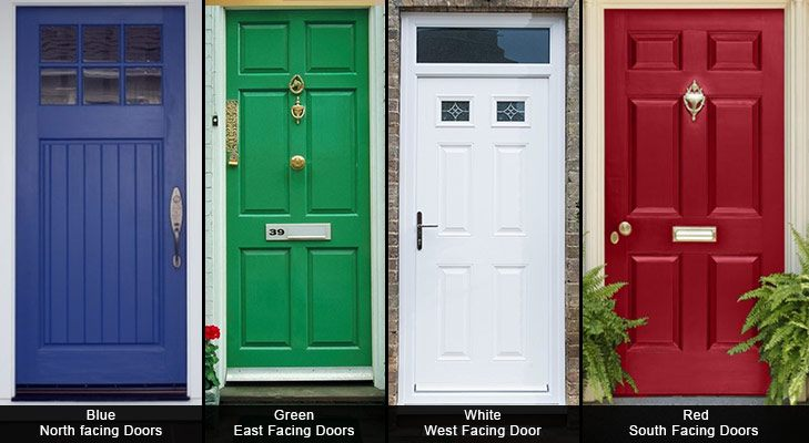 Feng shui tips for luck door colour @TheRoyaleIndia