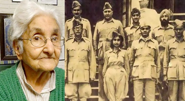 Inspirational women captain lakshmi sehgal azaad hind fauj @TheRoyaleIndia