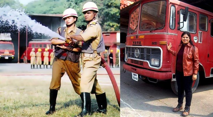 Inspirational women harshini kahekar 1st female firefighter @TheRoyaleIndia