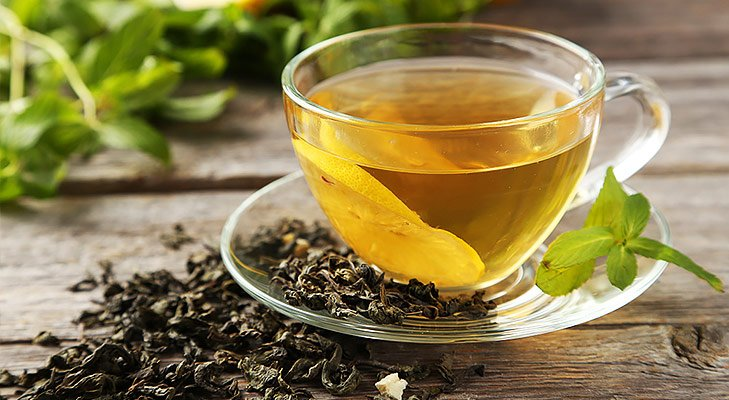 Japanese beauty secrets drink green tea