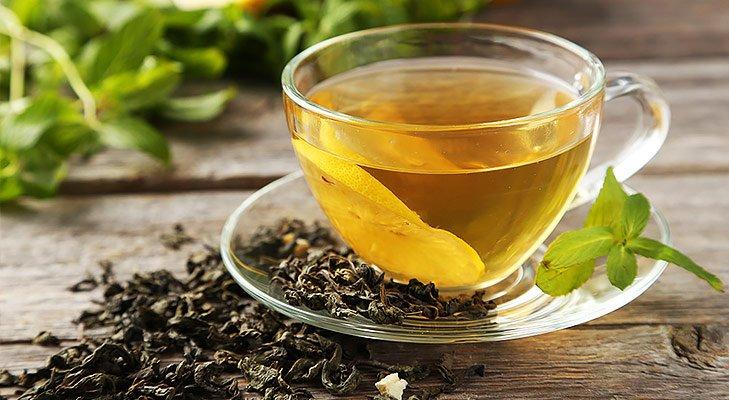 Japanese beauty secrets drink green tea