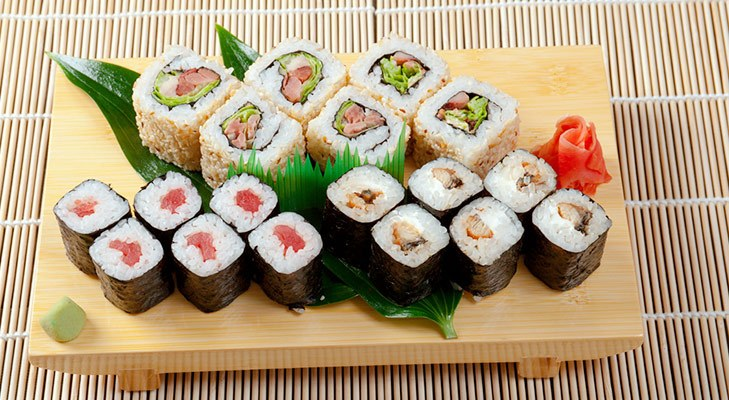 Japanese beauty secrets sushi