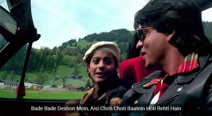 Movie dialogues that teach life lessons DDLJ