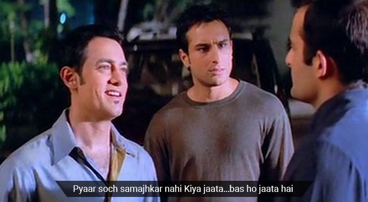 Movie dialogues that teach life lessons dil chahta hai