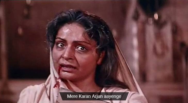 Movie dialogues that teach life lessons karan arjun