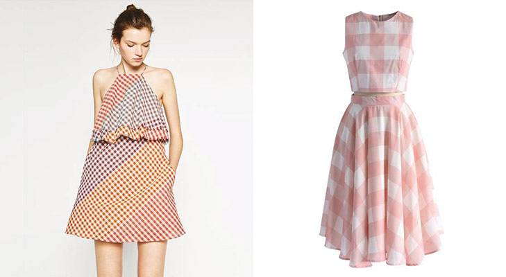 `Summer Trends Gingham Style