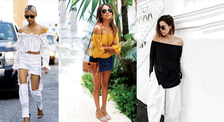 Summer Trends Off Shoulders