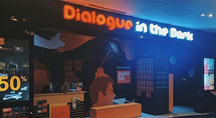 unusual restaurants india dialogue in the dark bangalore