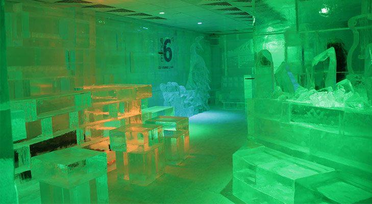 unusual theme restaurants india minus 6 ice lounge