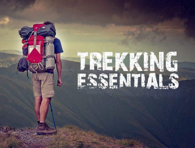 7 Essential Trekking Paraphernalia @TheRoyaleIndia