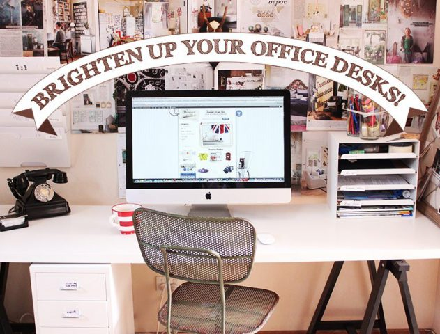 Brighten Up Your Office Desks