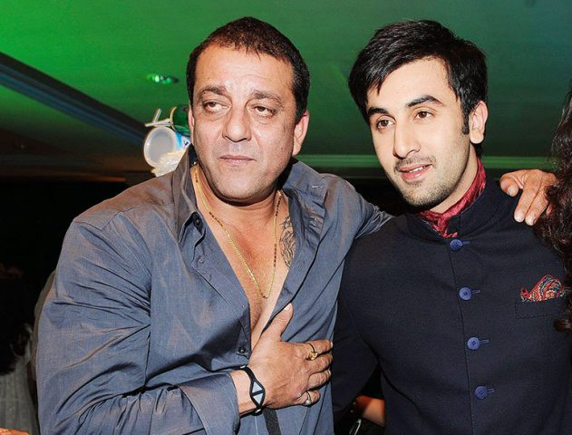 Sanjay Dutt and Ranbir kapoor @TheRoyaleIndia