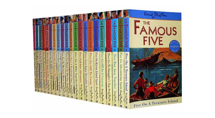 Kids Mystery Books Famous Five @TheRoyaleIndia