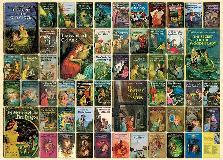 Kids Mystery Books Nancy Drew @TheRoyaleIndia