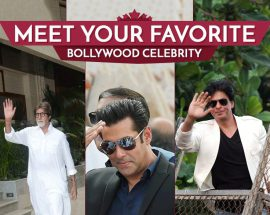 Meet your favourite Bollywood celebrity @TheRoyaleIndia