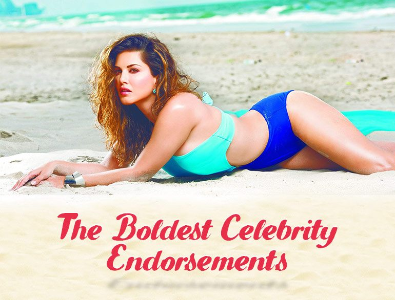 The Boldest Celebrity Endorsements @TheRoyaleIndia