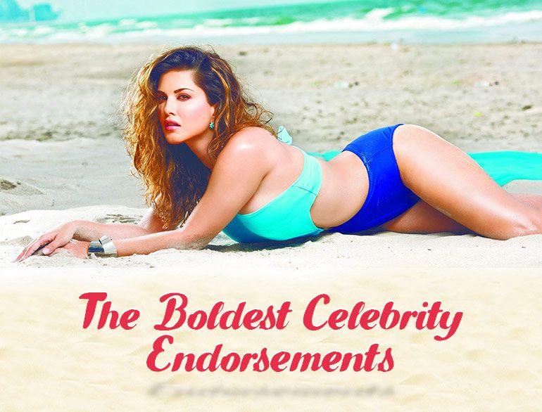 The Boldest Celebrity Endorsements @TheRoyaleIndia