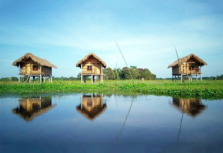 Tourist Places in India Majuli River Island