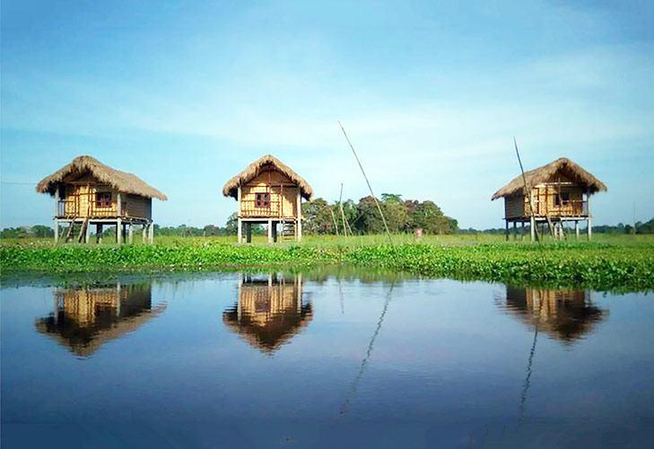 Tourist Places in India Majuli River Island