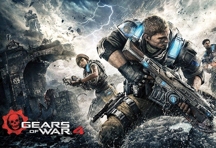 Video Games Gears of War @TheRoyaleIndia