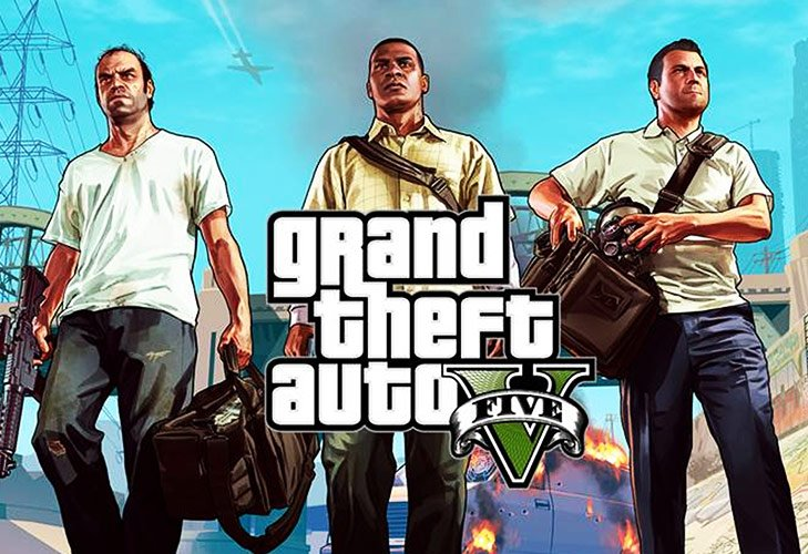 Video Games Grand Theft Auto V @TheRoyaleIndia