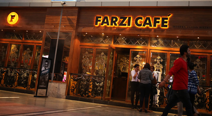 Farzi cafe @TheRoyaleIndia