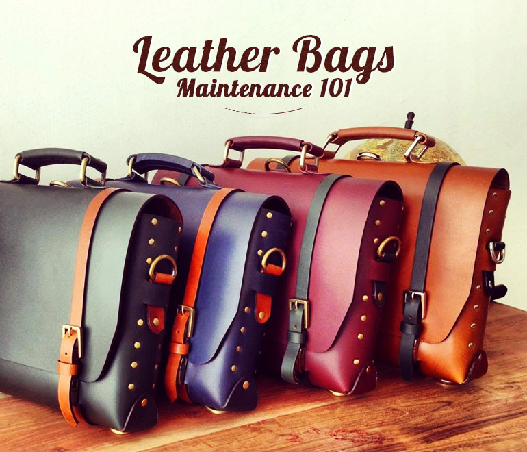 take care of your precious leather bags