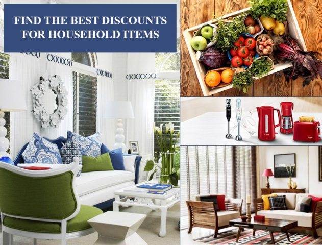 Where to Find the Best Discounts for Household Items @TheRoyaleIndia