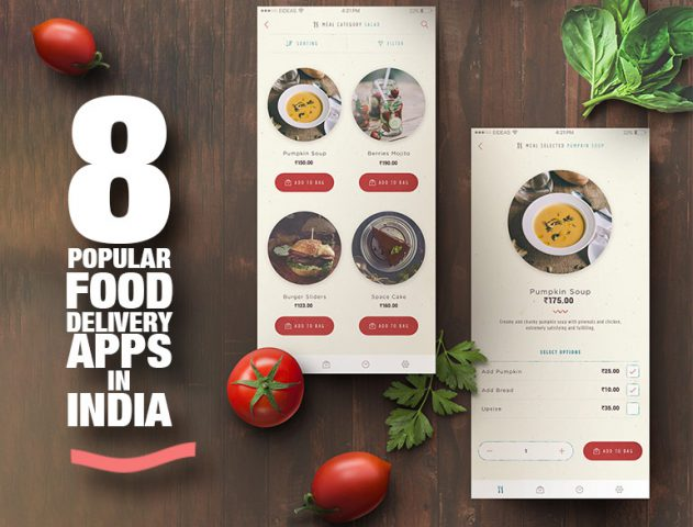 8 Popular Food Delivery Apps in India @TheRoyaleIndia