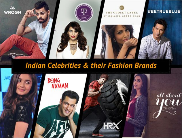 Indian Celebrities And Their Fashion Brands The Royale
