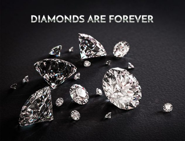 Diamonds are Forever @TheRoyaleIndia