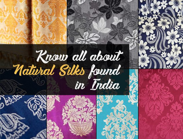 Natural silks found in India @TheRoyaleIndia
