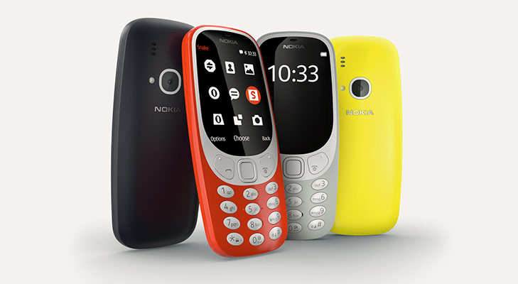 Nokia 3310 relaunched