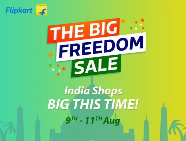 Flipkart The Big Freedom Sale @TheRoyaleIndia
