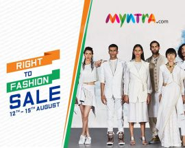myntra right to fashion sale @TheRoyaleIndia