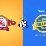 Amazon VS Flipkart – Top 10 Mobile Phone Deals