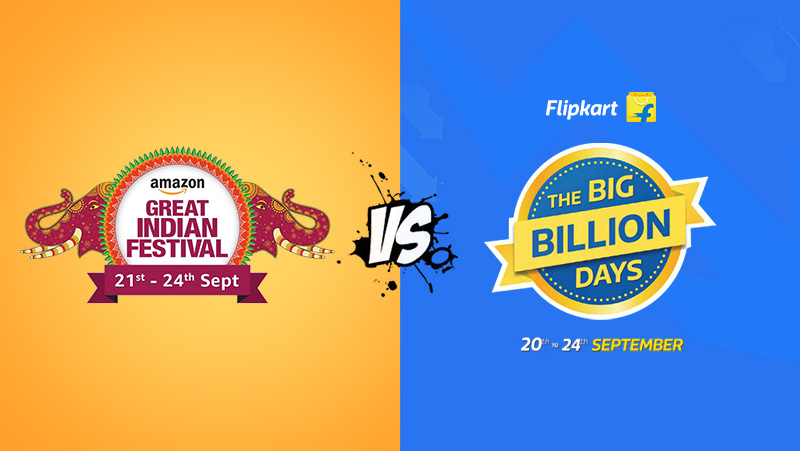 Amazon VS Flipkart - Top 10 Mobile Phone Deals