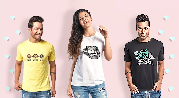 583c7bc84 They offer a wide range of trendy t-shirts for men, women, and couples. You  can pick any style from their trendy or graphic t-shirts that match your  style.